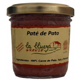 Paté de Pato Artesanal, Granja La Llueza, 100 gr.