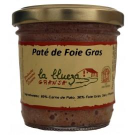 Paté de Foie Gras Artesanal, Granja La Llueza, 100 gr.