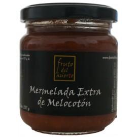 Mermelada Artesana de Melocotón, Fruto del Huerto, 210 gr.