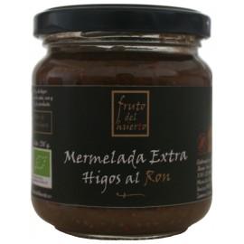 Mermelada Artesana de Higos al Ron, Fruto del Huerto, 210 gr.