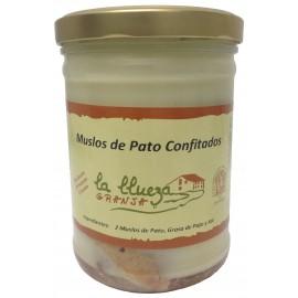 Muslos de Pato Confitados, Granja La Llueza, 750 gr.