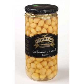 Garbanzos al natural Conservas Serrano