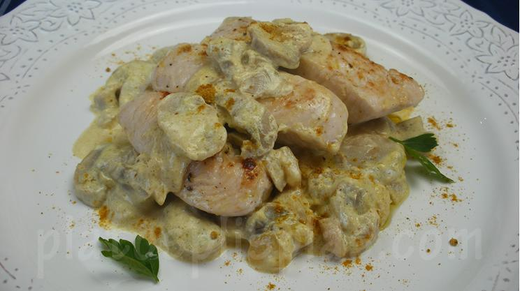 Blog ADNartesano - Recetas - Solomillo de pavo al curry