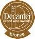 ADNartesano - Alsina&Sardà - Medalla de bronce Decanter Wine Awards 2011
